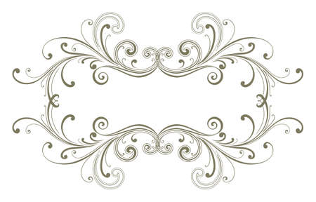 Vector title frame Stock Photo - 7599538