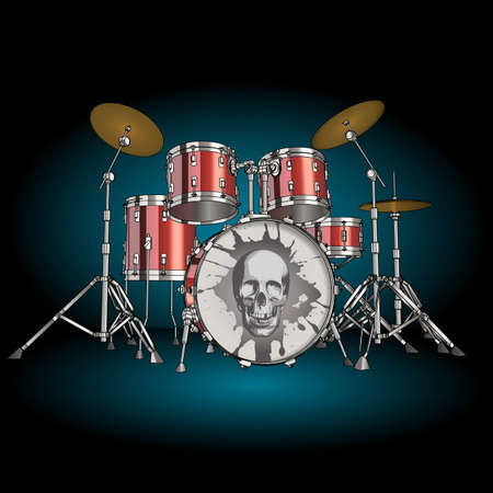 drum kit: Drums