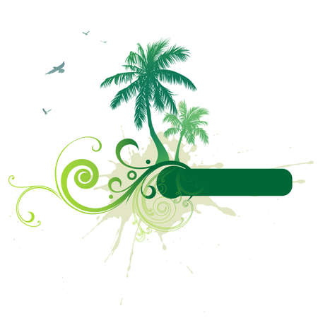 Tropical background photo