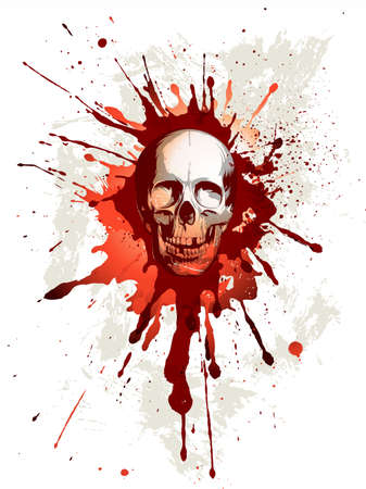 scary eyes: Skull