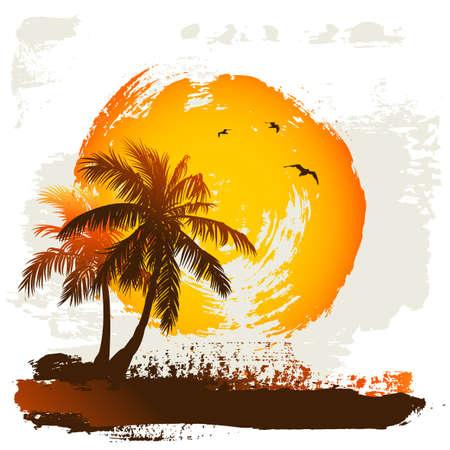 vocation: Tropical background