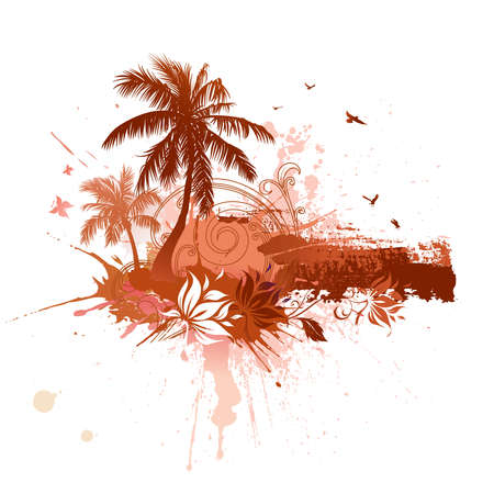Tropical abstract background Stock Photo - 7599585