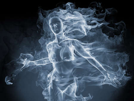 ghost face: Smoke