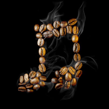 Coffee note symbol photo