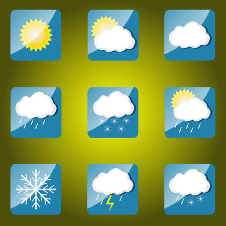 hailstorm: Weather icons set for web applications.
