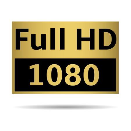 full hd: Full HD Illustration