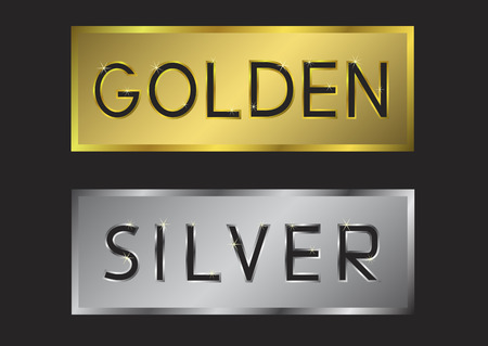 award lit: Golden and silver labels