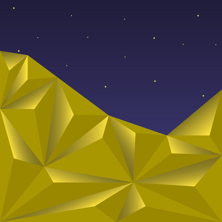 two dimensional shape: Golden Polygonal