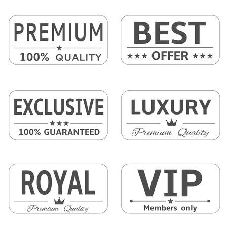 minimalistic: Minimalistic luxury labels
