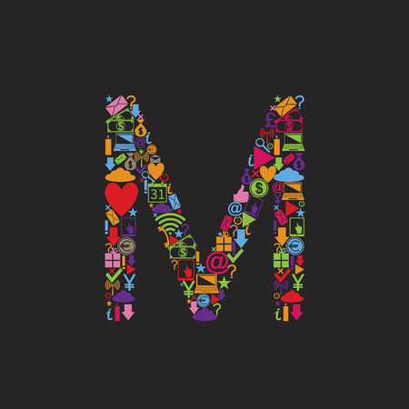 capital: Letter M