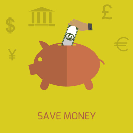 Save money Vector