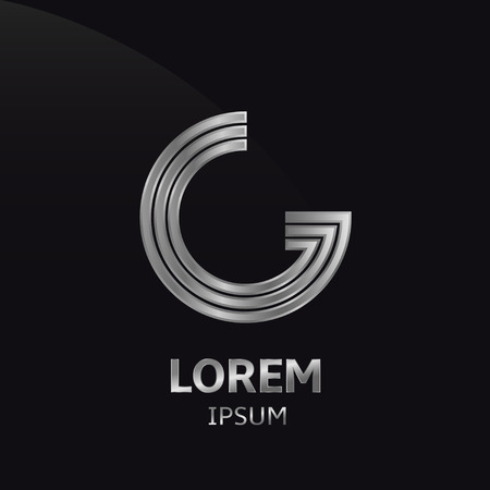 letter g: LOREM ipsum G