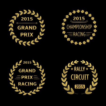 Grand Prix  Stock Illustratie