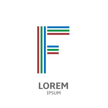 learning series: LOREM ipsum F Illustration