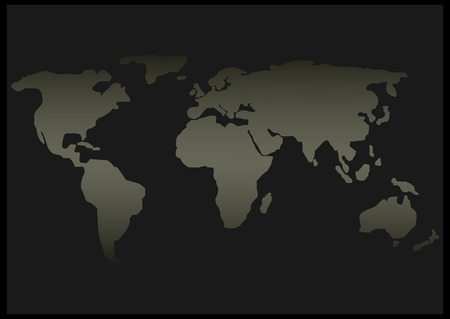 geography: Abstract World map. Geography and travel concept.