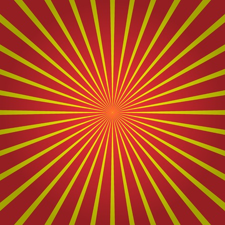 phon: Abstract Funky Striped Background. Red pattern with yellow stripes