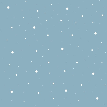 blizzard: Heavy snowfall background. Winter blizzard, Vector illustration Illustration