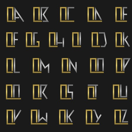 qs: Q and other alphabet letters monogram