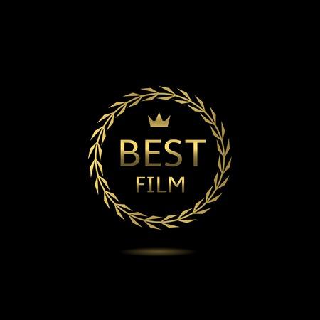 famous actress: Best film award, golden laurel wreath badge