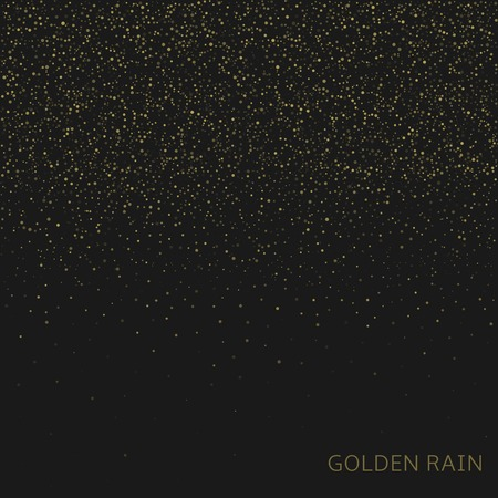 enchanting: Golden rain Abstract Luxury magic Background for your website