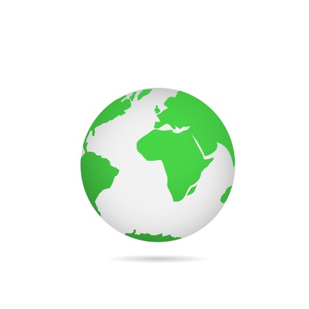 energies: Illustration of Green earth. Bio concept. Eco concept Illustration