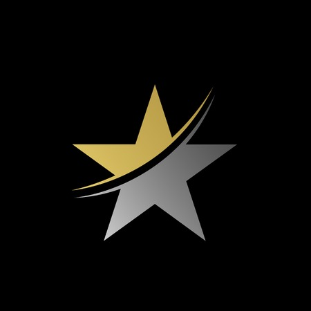 star award: Star symbol. Award sign. Luxury symbol. Vector illustration