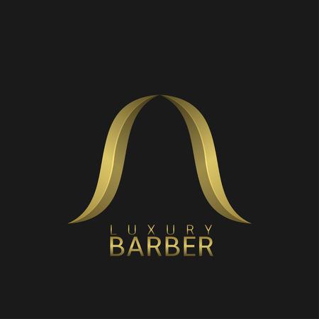 barber shop: Luxury barber shop logo