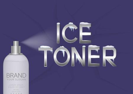 toner: Ice toner bottle