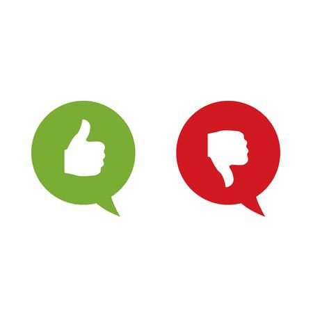 validation: Like and dislike labels