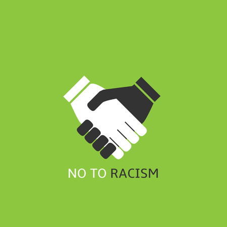 No to racism Illustration