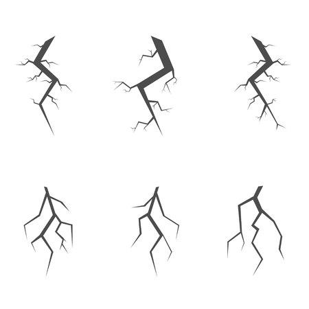 cleft: Simple crack set