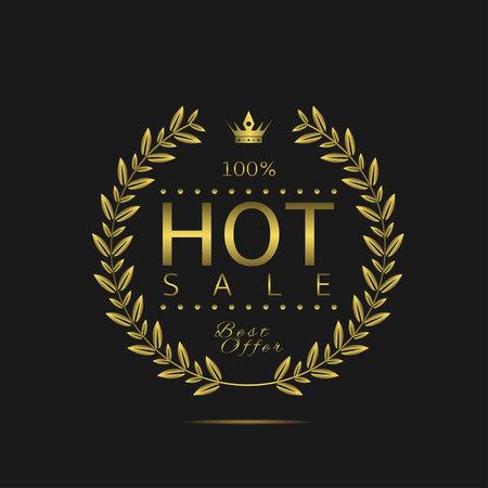 Hot sale label
