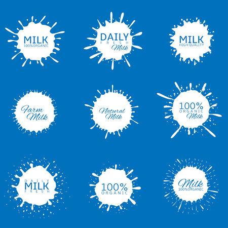 Milk splash set