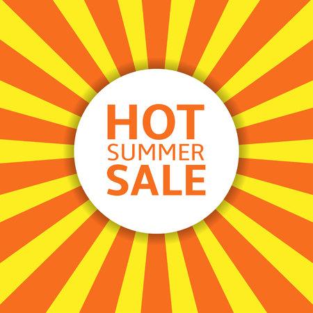 Summer Sale label Illustration