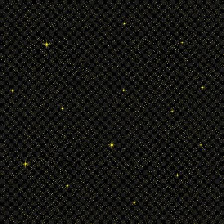 starfall: Golden stars background Illustration