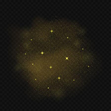 starry night: Falling stars background