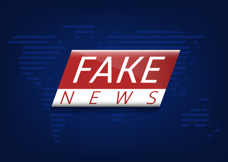 Fake news illustration 일러스트