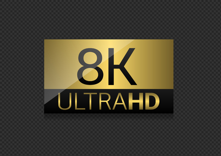 8K Ultra HD label