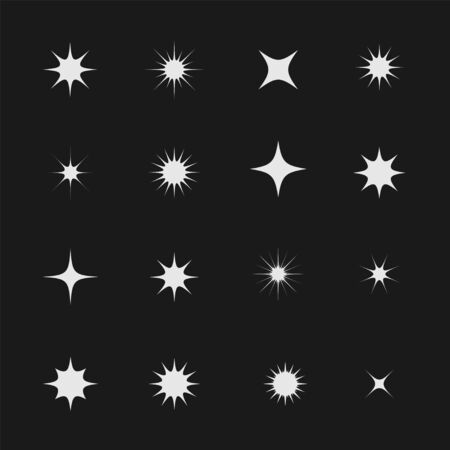Stars and sparks Illusztráció