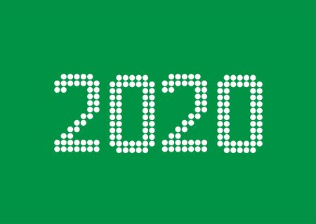 2020 White rounds numbers