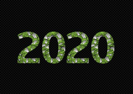 2020 Green planet illustration