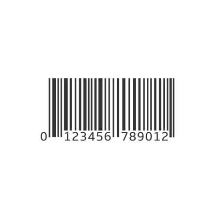 Simple bar code Stock Illustratie