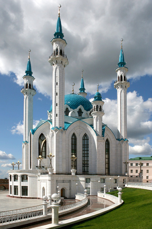 Mosque of Kul-Sharif city of Kazan Republic of Tatarstan Russian Federation
