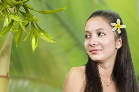 Young beautiful woman Фото со стока