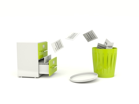 removing: Removing files from archive cabinet