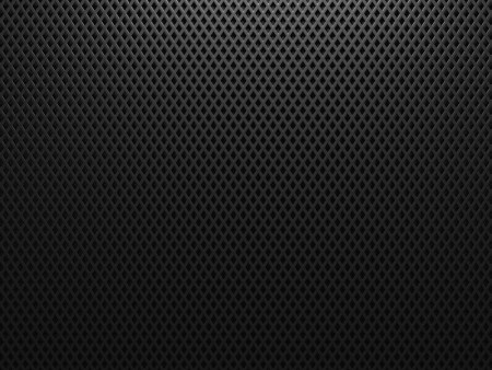 black hole: Black metal background with hexagon holes