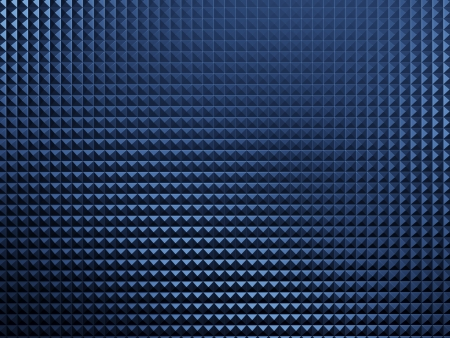 Blue metal background photo