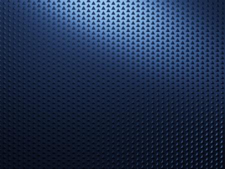 Blue metal background photo