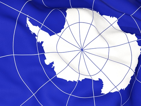 antarctica: Flag of antarctica