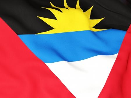antigua: Flag of antigua and barbuda Stock Photo